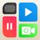 Clipstitch ビデオ コラージュ グリッド video and photo collage - 組み合わせる 写真 動画 と共に フレーム また 音楽 - に投稿 LINE, Instagram - ふなっしー カメラ
